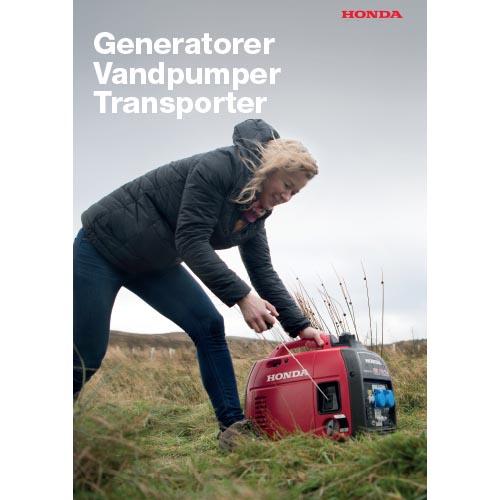 Honda generatorer og pumper