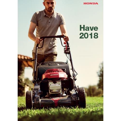 Honda havemaskiner 2018