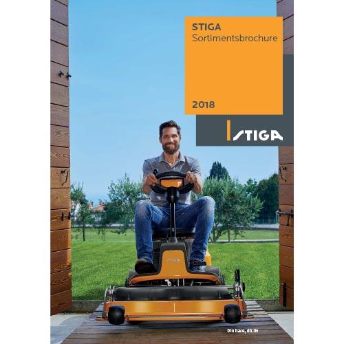 STIGA sortimentsbrochure 2018