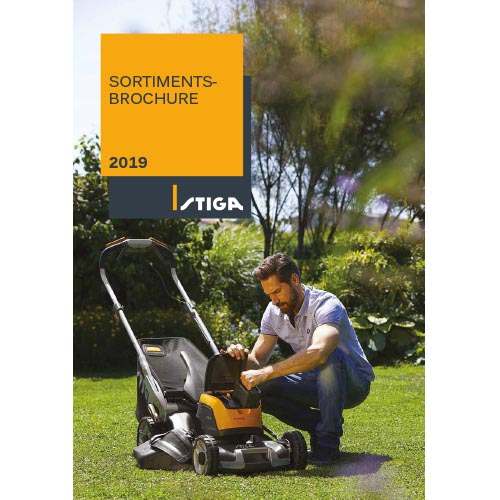 STIGA sortimentsbrochure 2019